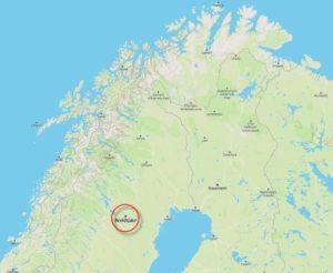 Aridsjour in Lappland
