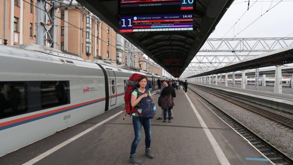 moderne Bahnhöfe in Russland