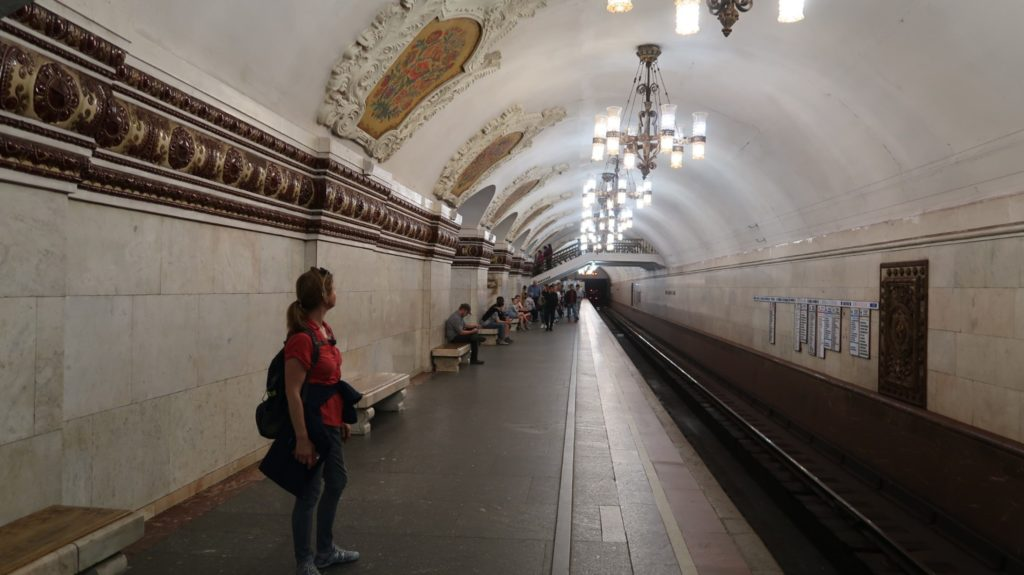 Moskaus Metrostationen