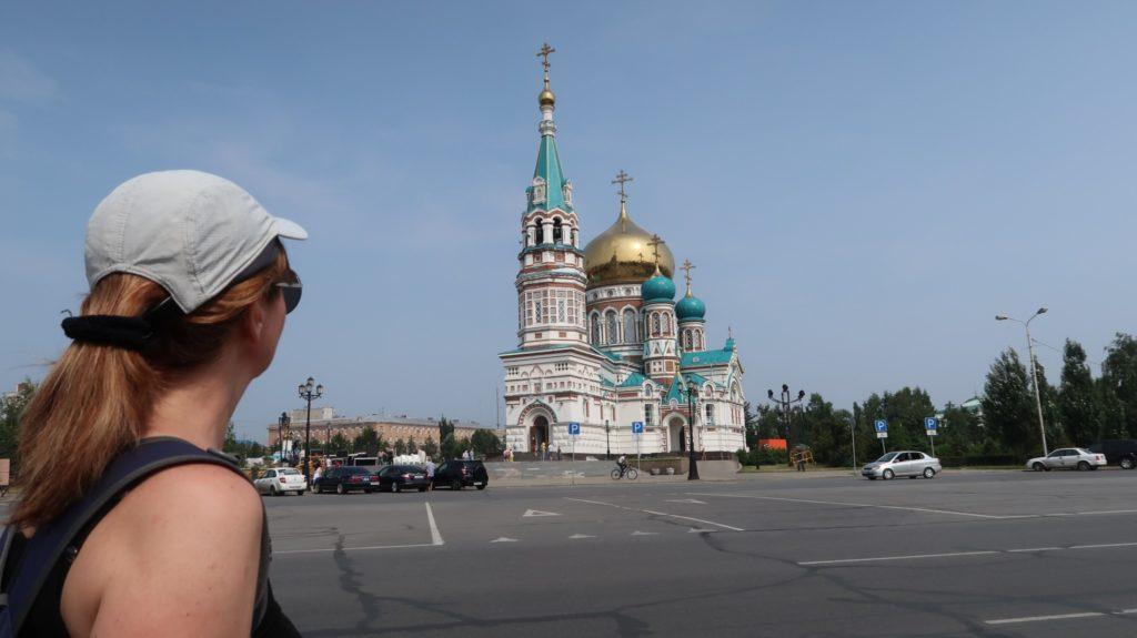Omsk, eine Stadt in Russland