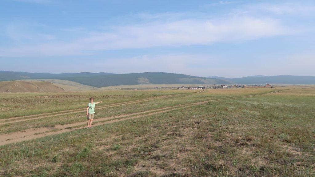 malerische Kulisse, kleine Dörfer, Natur - Olchon in Russland