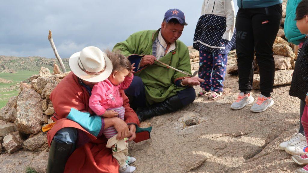 Heilwasser aus der Natur in Mongolia