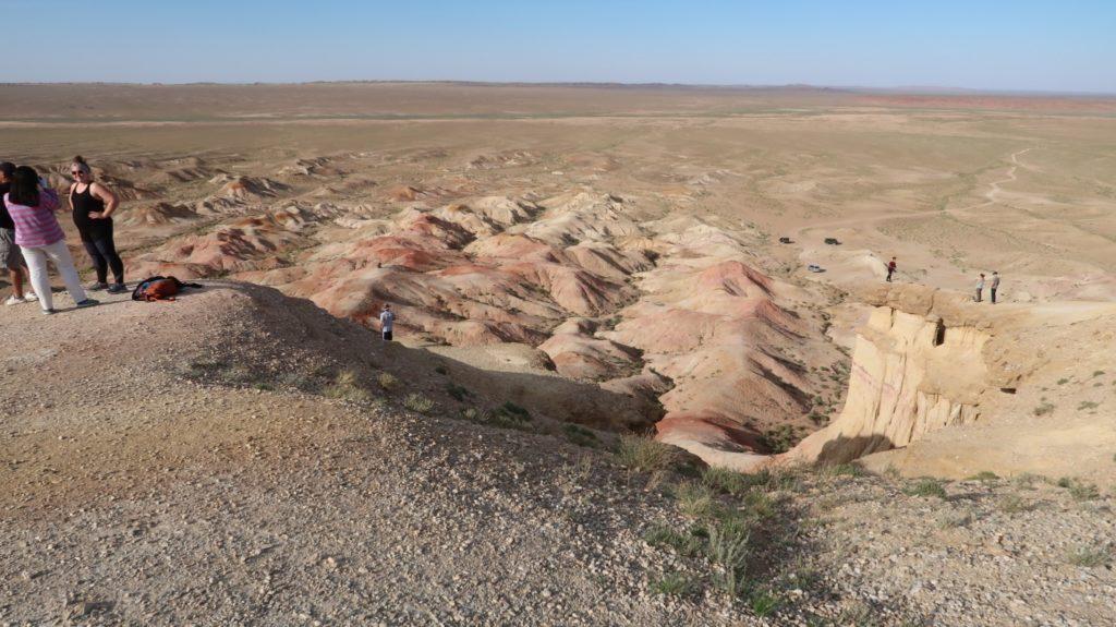 white stupa mongolia