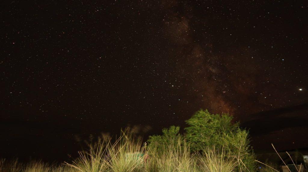 Keine gute Kamera aber ein toller Sternenhimmel über der Mongolei