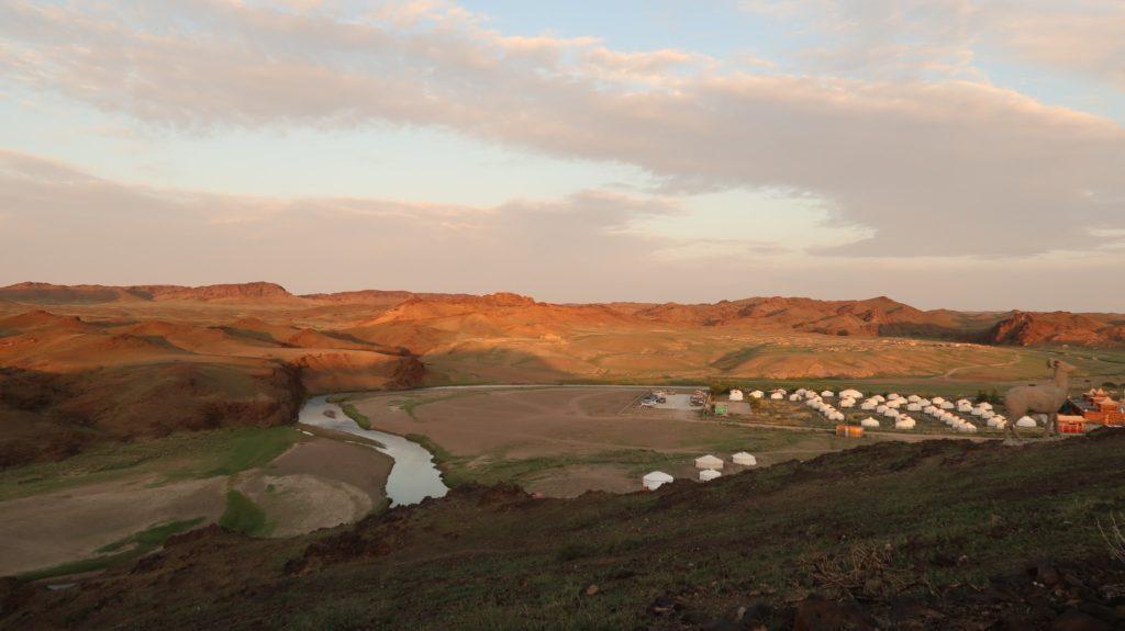 Am Ongifluss in der Mongolei