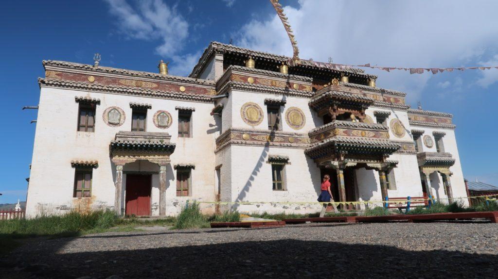 Klosterschule in Betrieb Mongolei