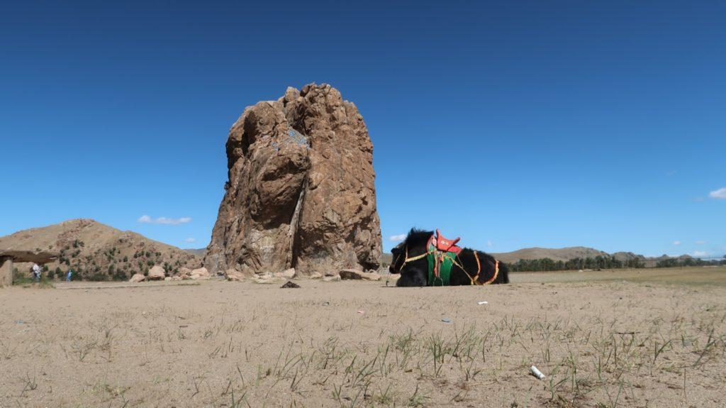 Taikhar Rock in der Mongolei