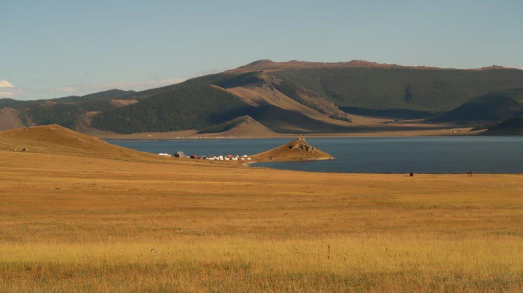 White Lake Mongolia