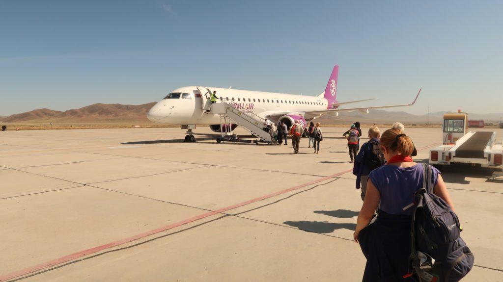 Murun Mongolia Airport