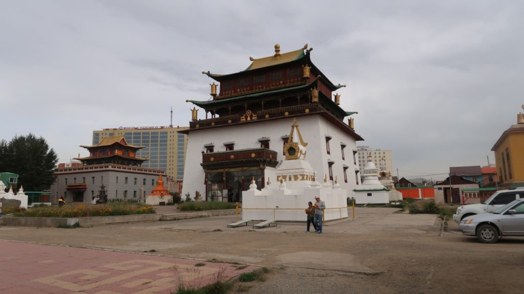 Kloster Gandan in der Mongolei, siehe Reisebericht