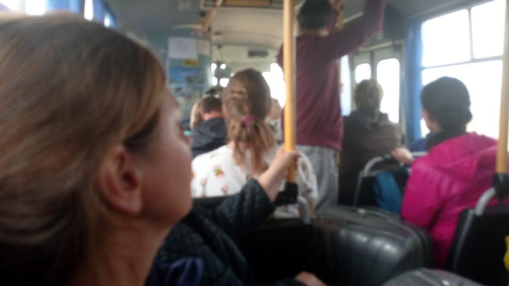 Bus und Bahn in Russland
