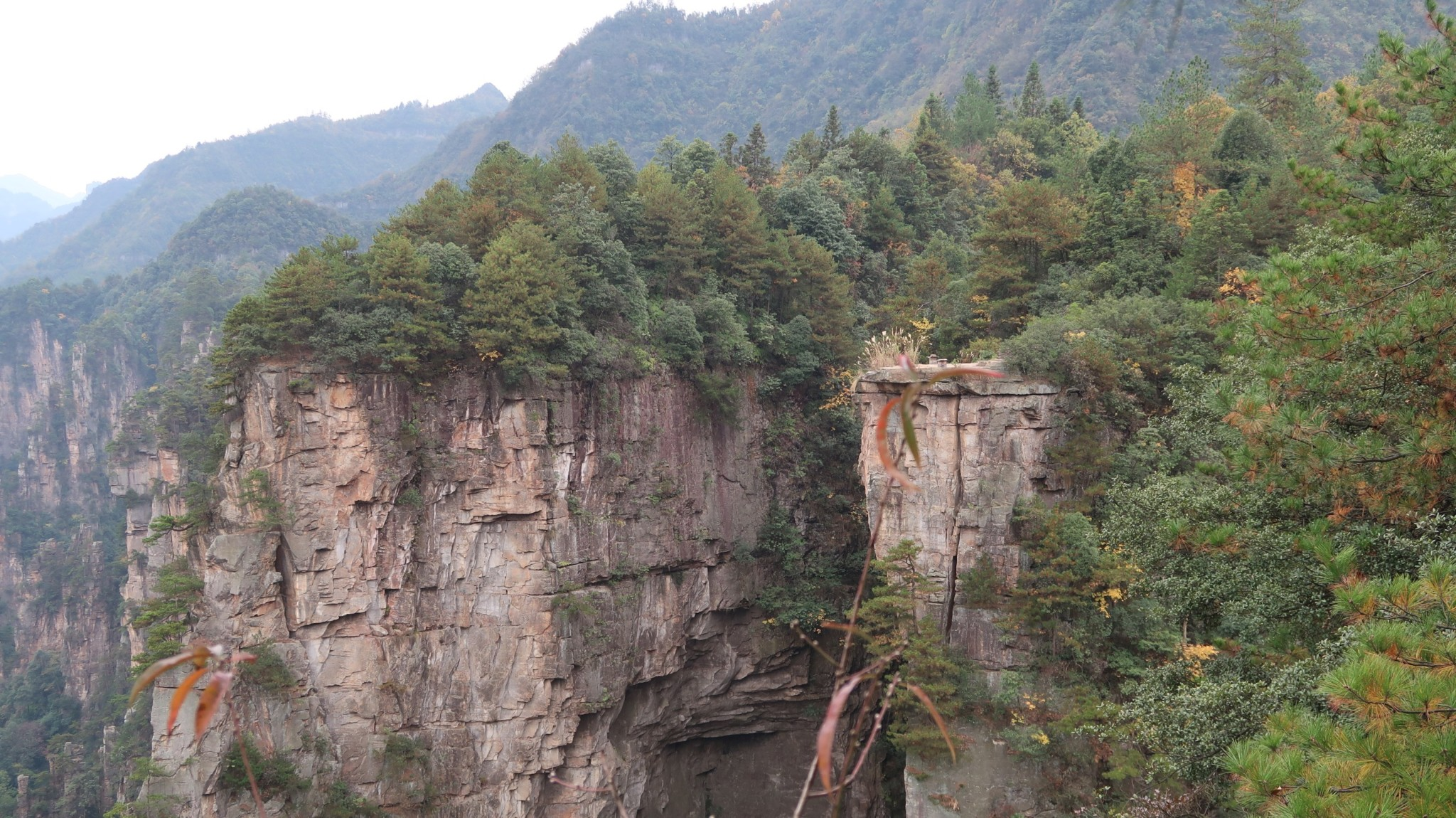 Felsformationen im Avatar-Gebirge