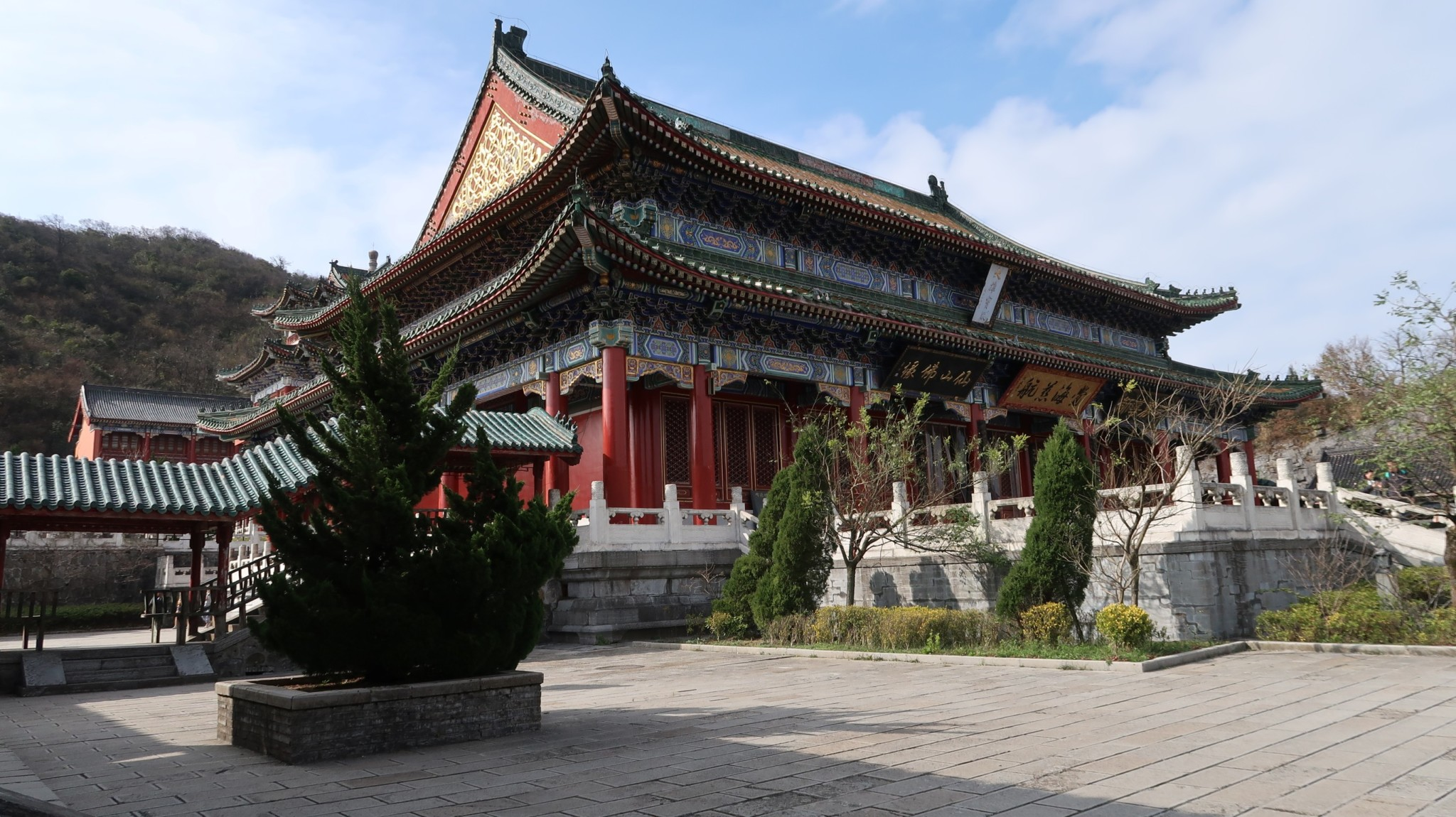 Tempel Tiamen-Berg