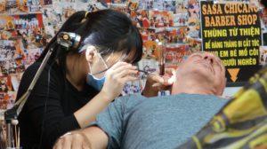 Ohrenreinigung Vietnam