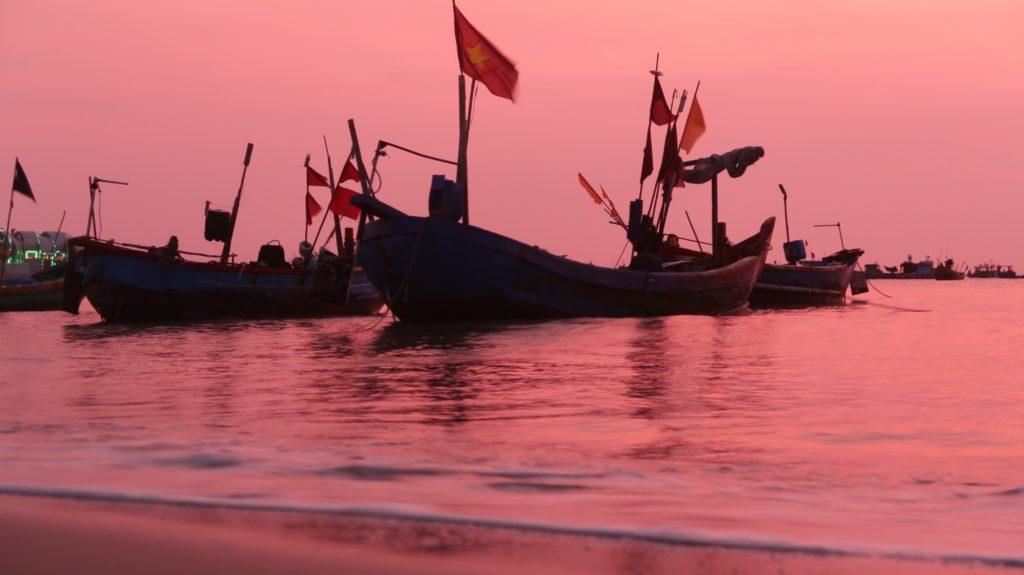 Boote im Hafen von Vung Tau - Vietnam
