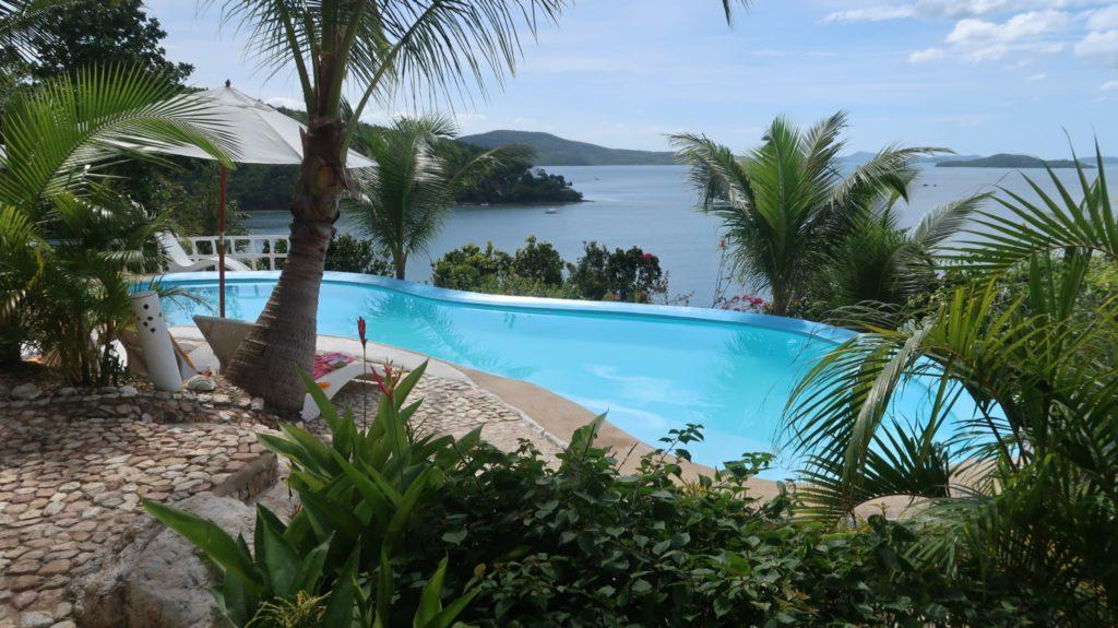 Eine Insel auf den Philippinen