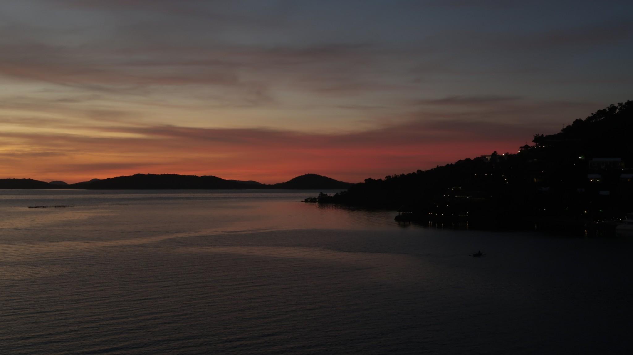 Busuanga am Abend - Sonnenuntergang auf den Philippinen