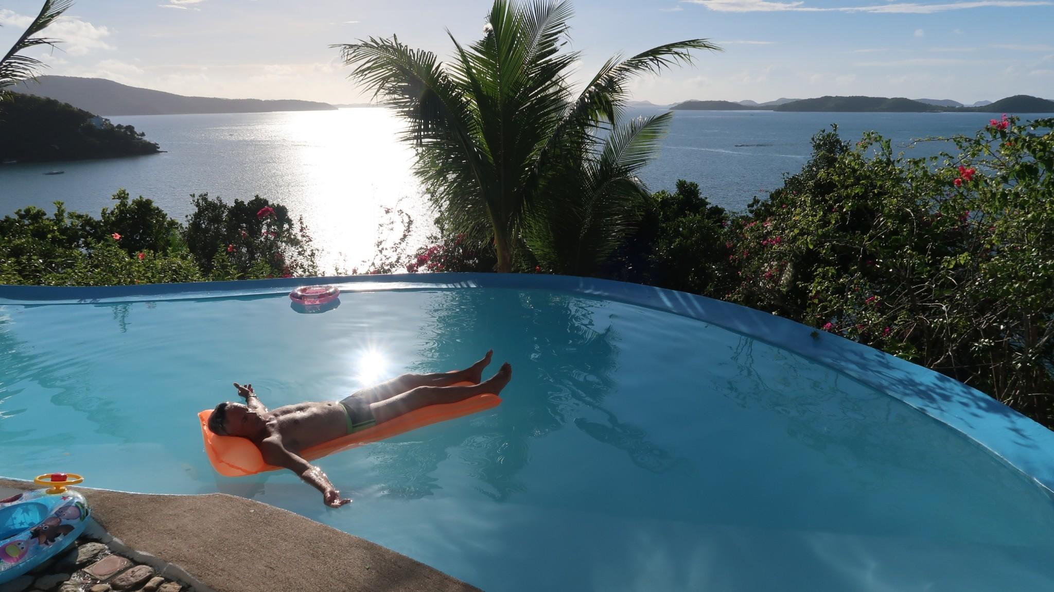 Pool Busuanga Philippinen