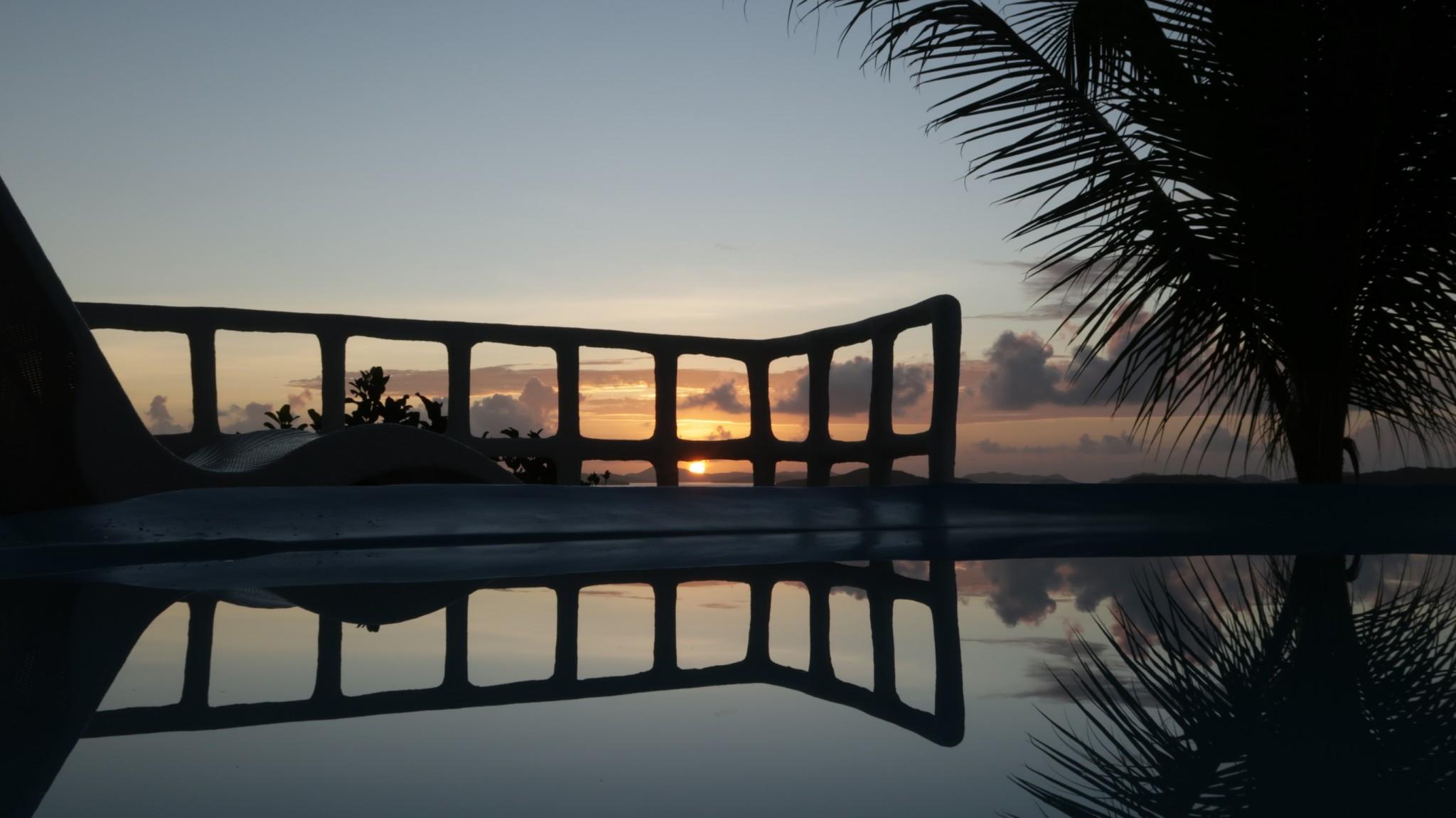 Sonnenuntergänge Busuanga Philippinen