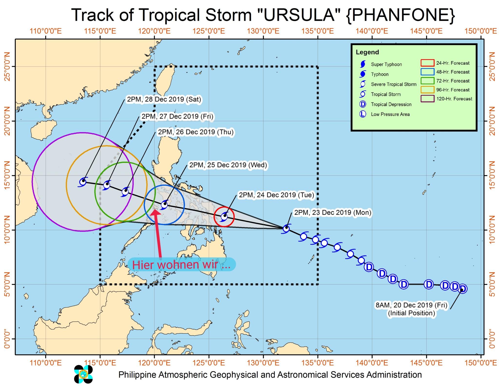 Taifun Ursula Philippinen Reiseberichte