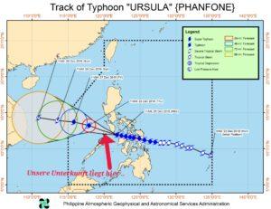 Taifun Ursula