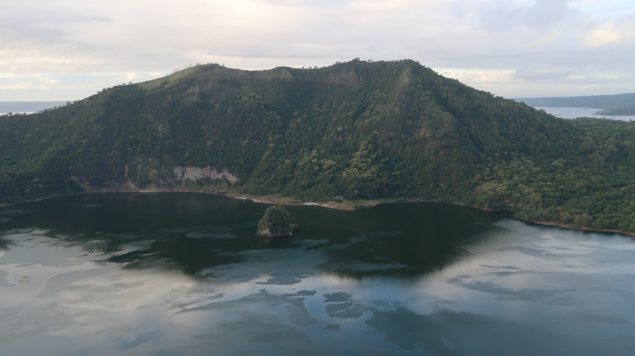 Kratersee am Taal Vulcano