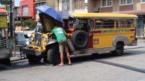Jeepney Überholung