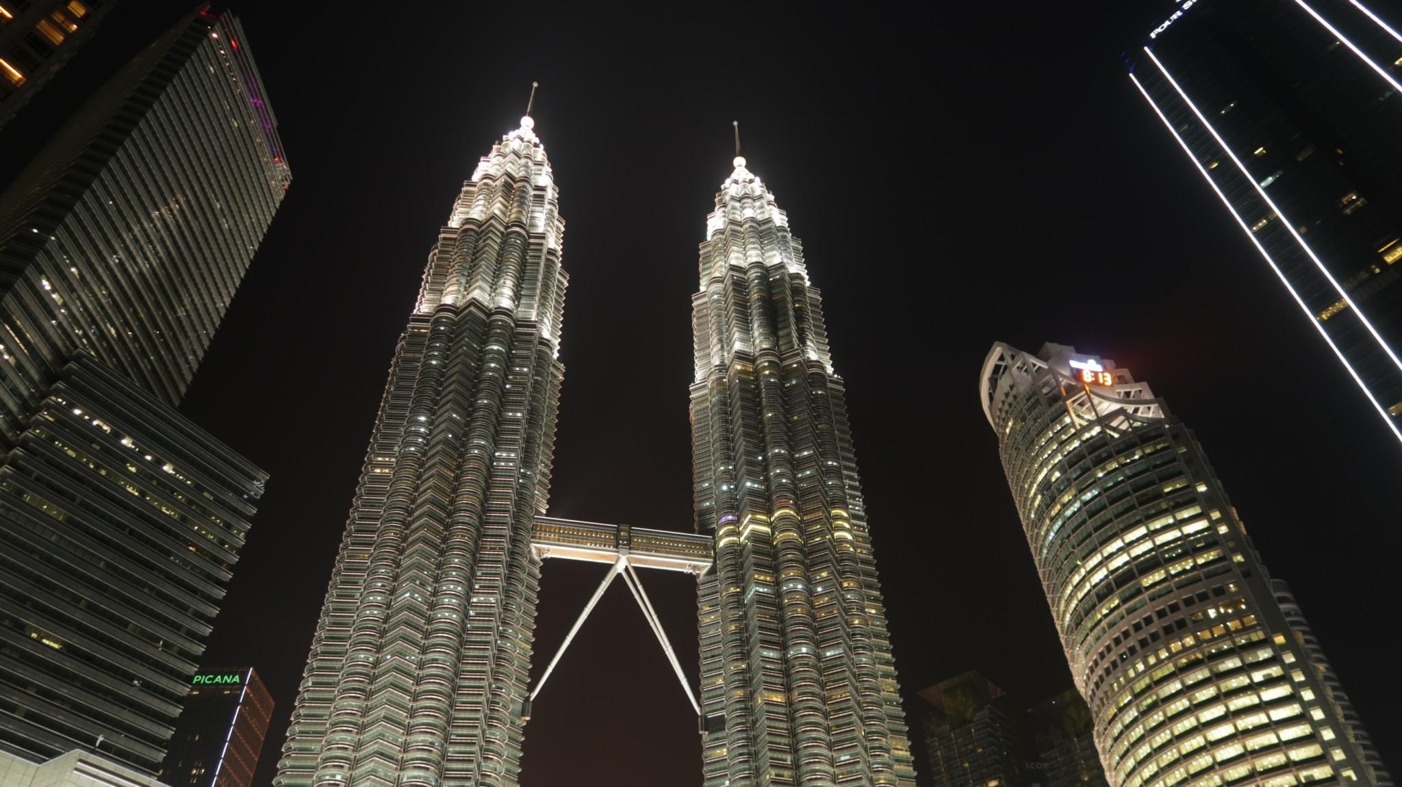 Kuala Lumpur Zwillingstürme, Malaysia