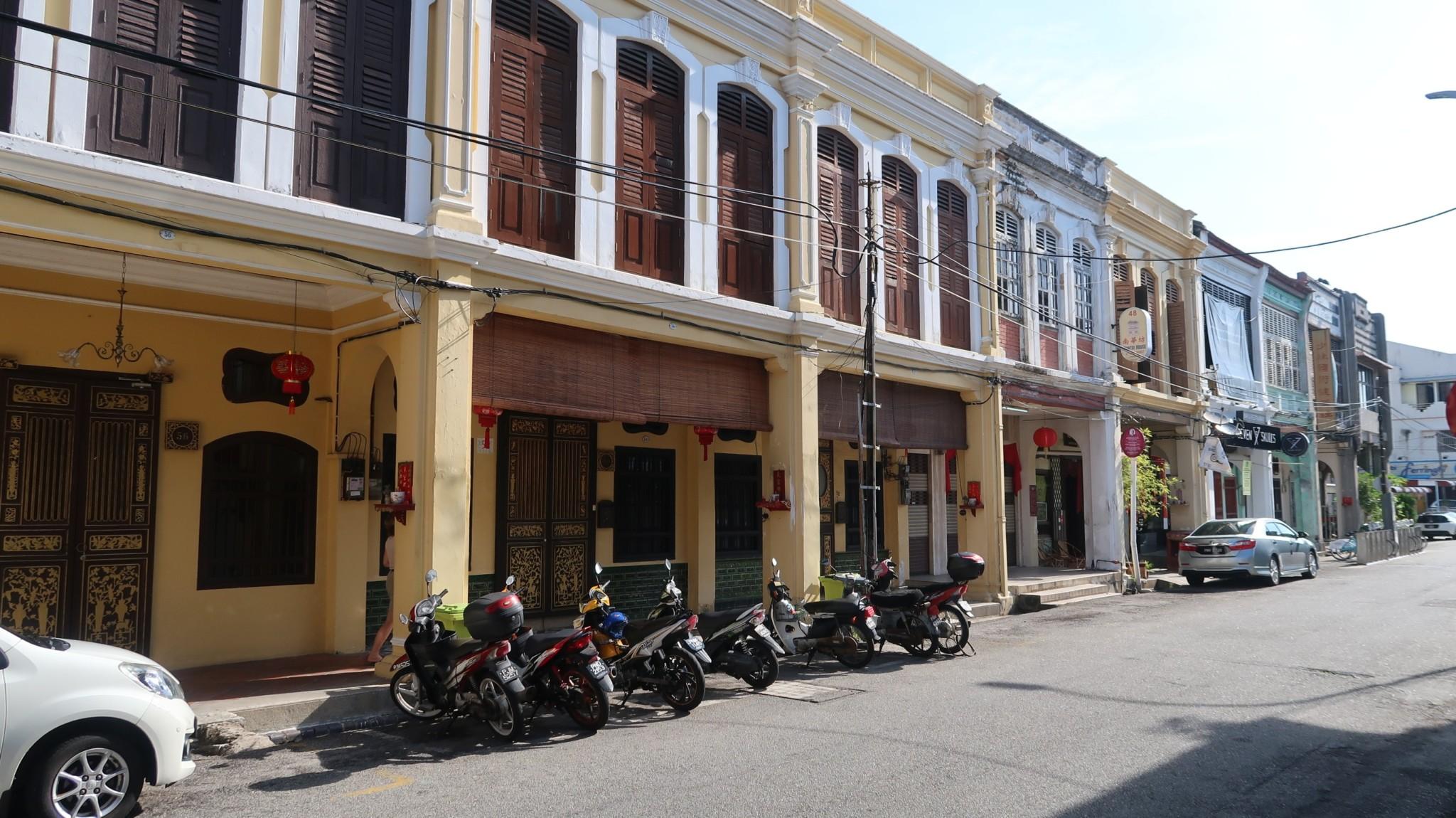 Georgetown Stadthäuser Penang