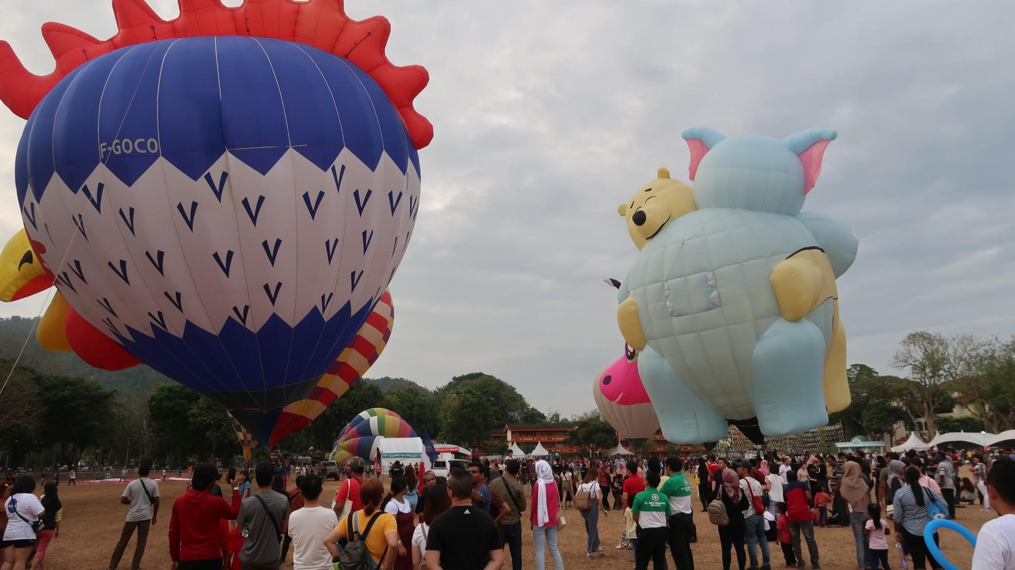 Ballons in Penang