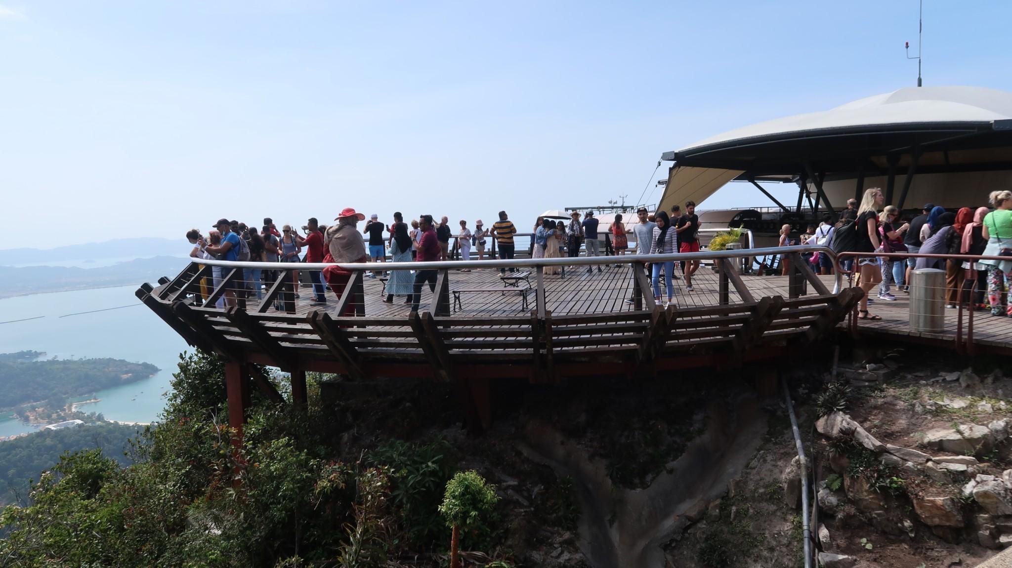 Aussichtspunkt Langkawi Malaysia