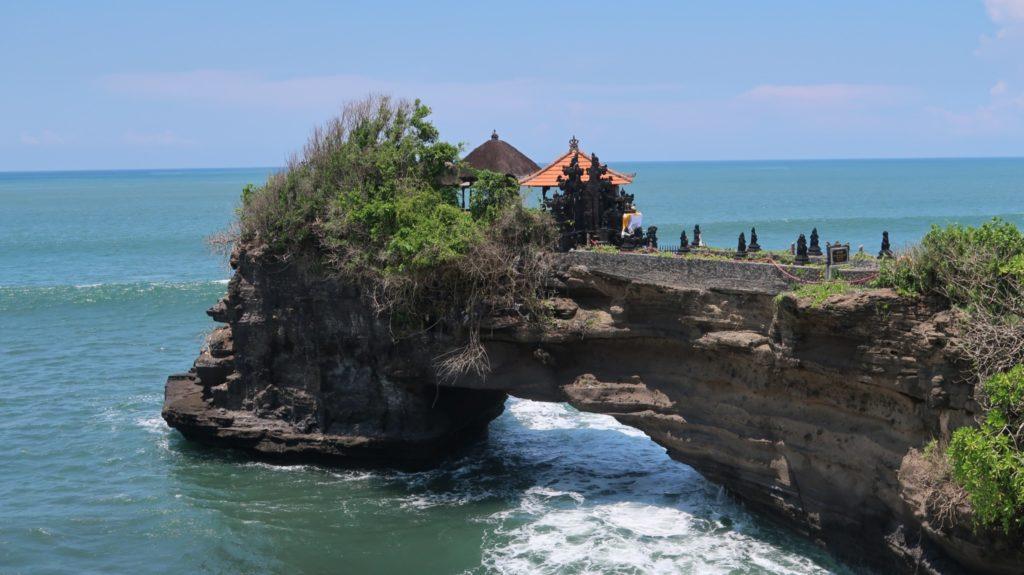 Tempel am Meer von Bali