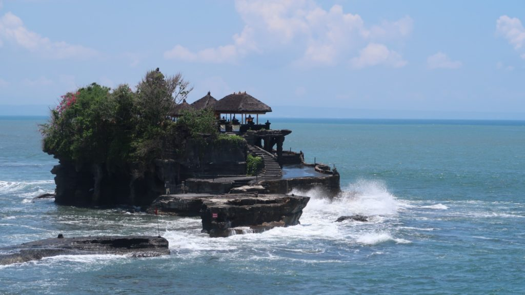 Tempel am Meer Bali Indonesien - unsere Reiseberichte
