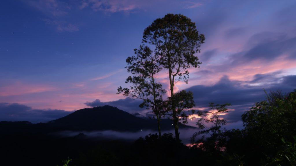 Zwillingsseen auf Bali