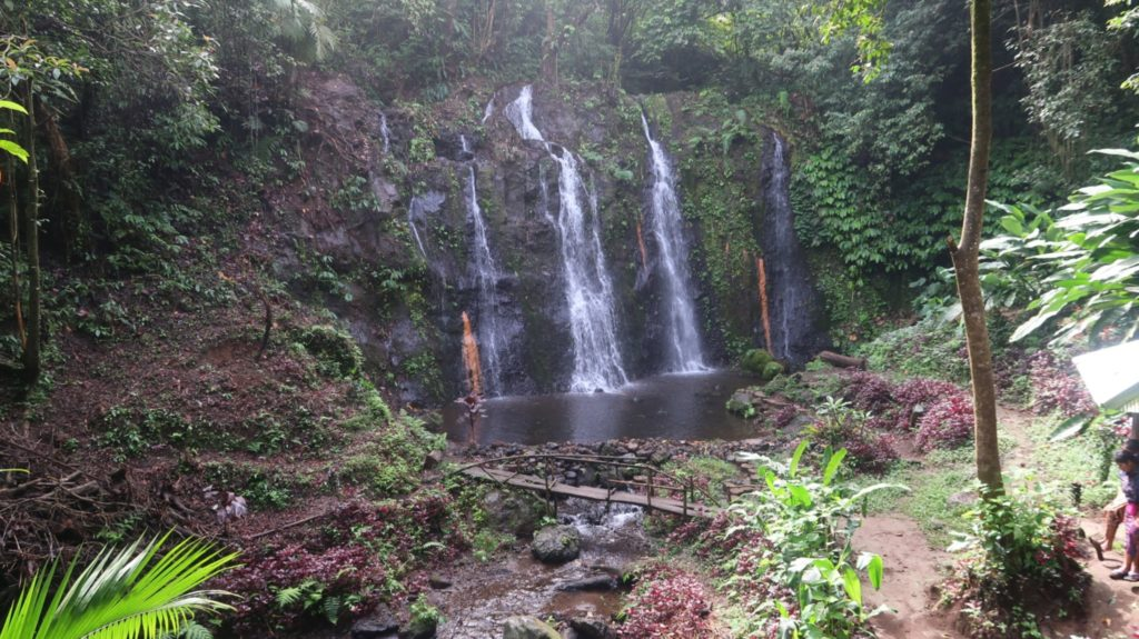 Waterfall Twinlakes Bali