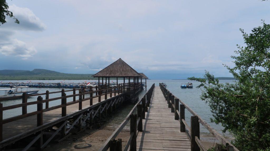 Hafen zur Nusa Bay Nordbali