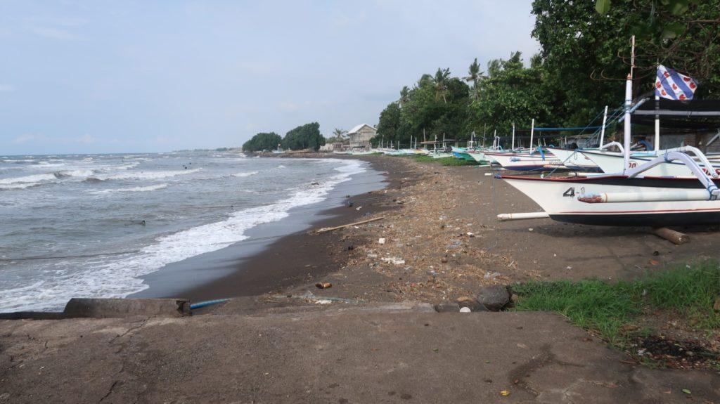 Strand Lovina im Norden von Bali