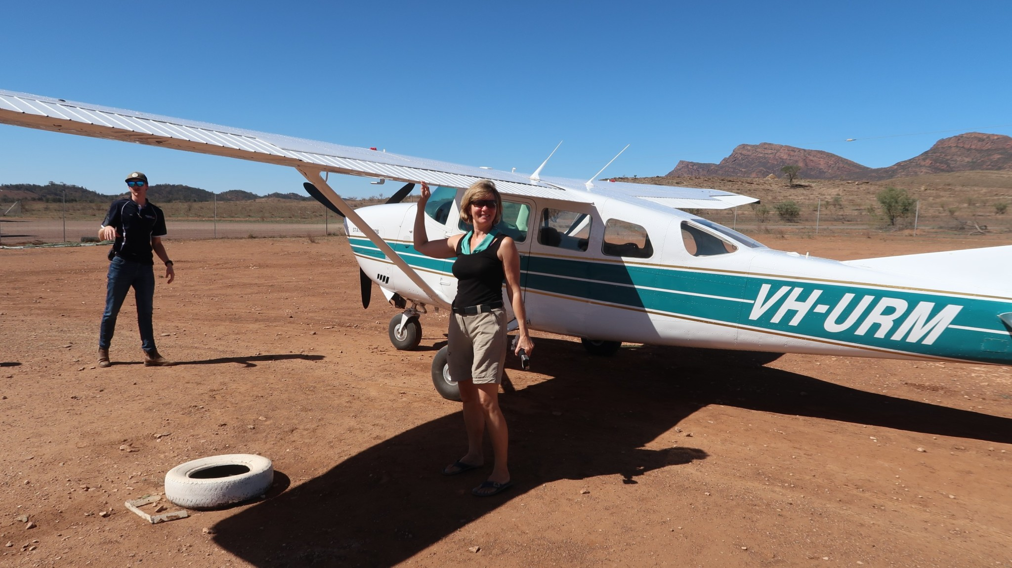 Flight Flinders Nationalpark