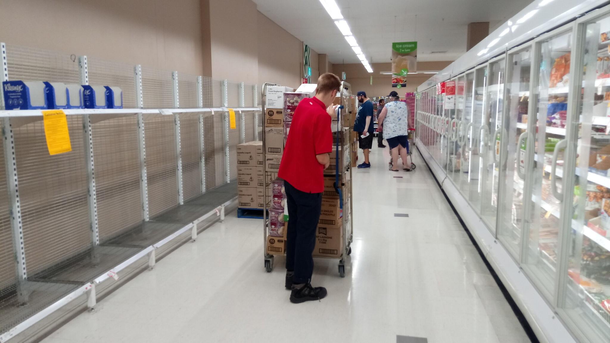 Coles Supermarkt