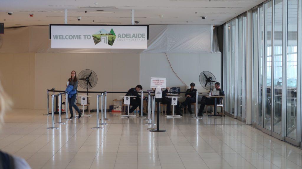 Adelaide Flughafen - Australien Reise