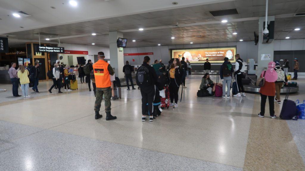 Melbourne Flughafen _ Australien Reise