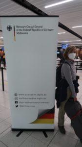 Abflug in Melbourne - Australien Reise