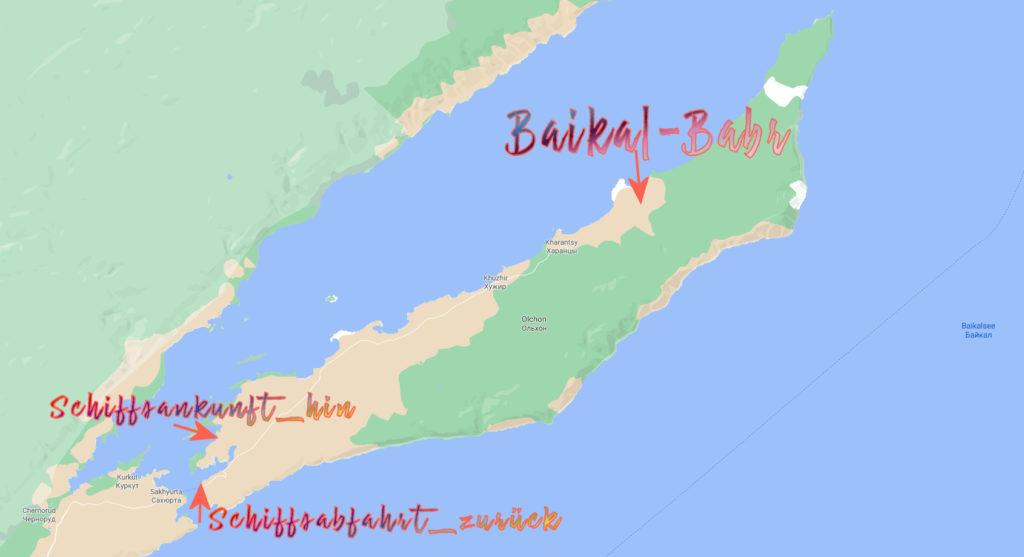 Olkhon Baikalsee